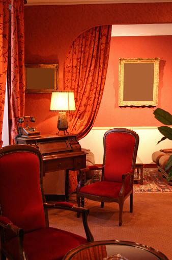 France「Antique Furnishings In Hotel Interior」:スマホ壁紙(16)