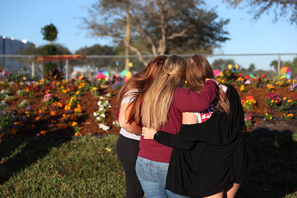 Memorial Event「One Year Anniversary Of Deadly Shooting At Marjory Stoneman Douglas High School In Parkland, Florida」:写真・画像(11)[壁紙.com]