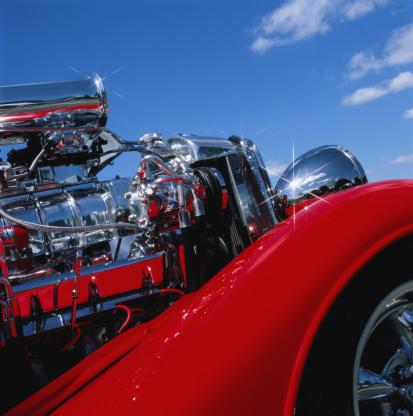 Hot Rod Car「Hot-rod engine」:スマホ壁紙(19)