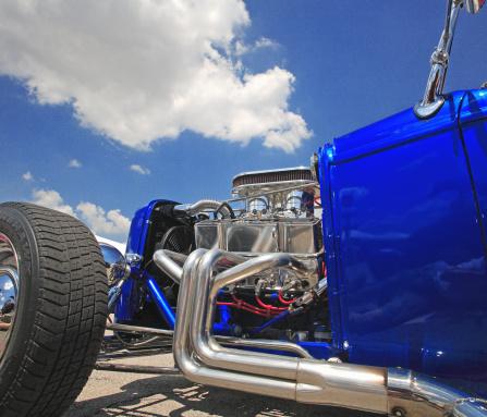 Hot Rod Car「Hot-Rod engine」:スマホ壁紙(17)