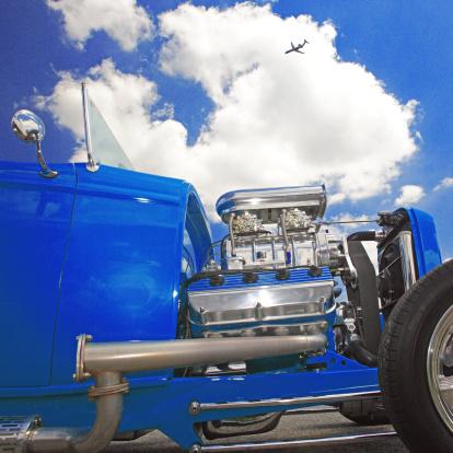 Hot Rod Car「Hot-rod engine」:スマホ壁紙(10)
