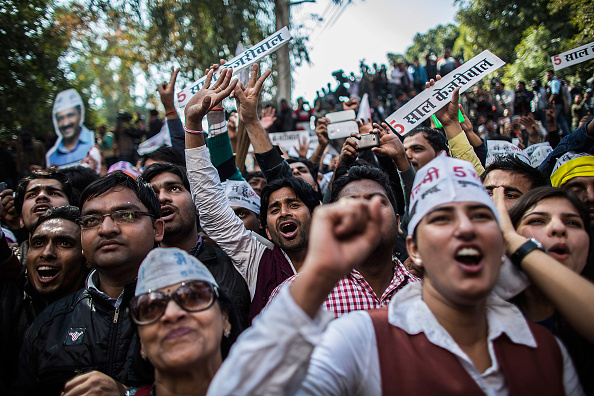 Delhi「Delhi Holds 2015 Legislative Assembly Election」:写真・画像(4)[壁紙.com]