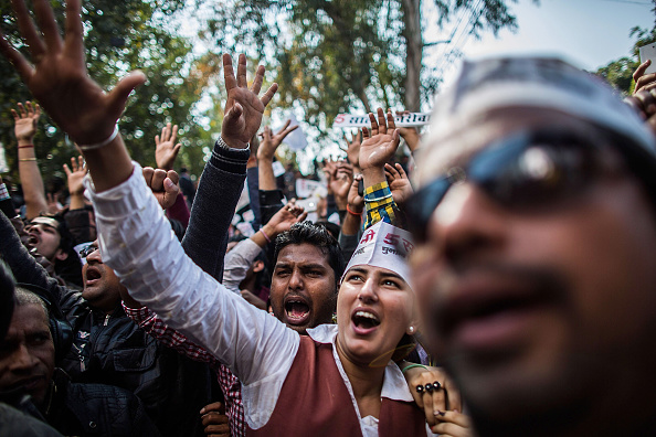 Delhi「Delhi Holds 2015 Legislative Assembly Election」:写真・画像(3)[壁紙.com]