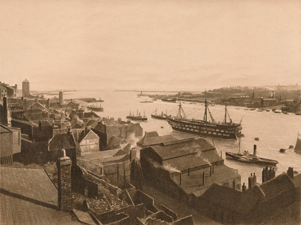 Water's Edge「The Mouth Of The Tyne, 1902」:写真・画像(8)[壁紙.com]