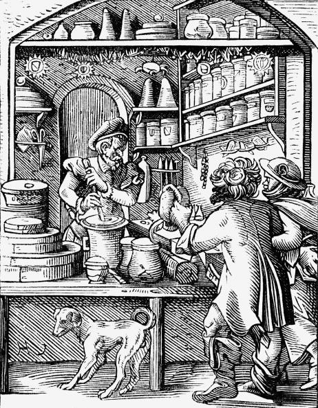 16th Century「Apothecary」:写真・画像(7)[壁紙.com]