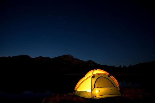 Tent「Jasper National Park」:スマホ壁紙(8)
