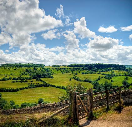 コッツウォルズ「HDR 画像のウッドウェイ、田舎の背景、Cotswolds 、グロスタシャー」:スマホ壁紙(13)