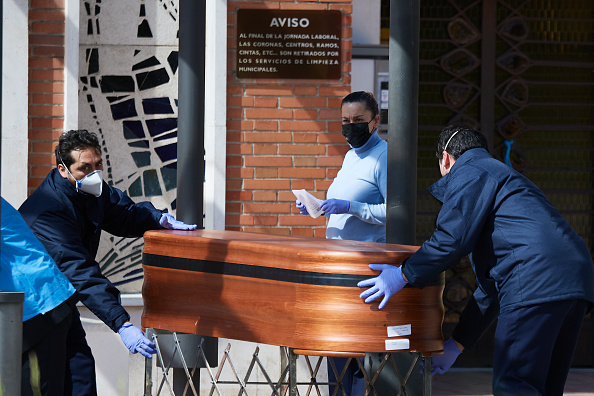 Coffin「Spain Extends Coronavirus Lockdown As Death Toll Rises」:写真・画像(8)[壁紙.com]