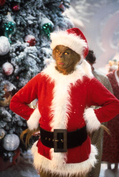 Christmas「Jim Carrey Stars As The Grinch The Green Monster Who Disguises Himself As Santa Claus An」:写真・画像(7)[壁紙.com]