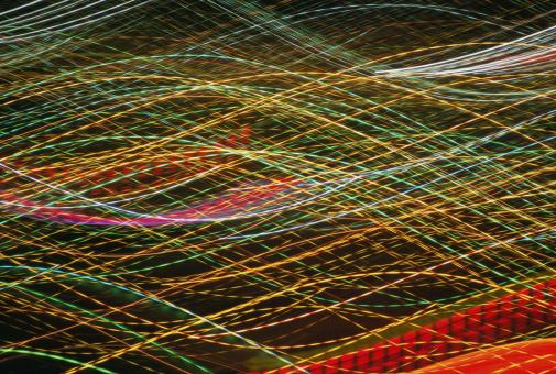 カラフル「Loose strands of fabric, close-up」:スマホ壁紙(1)