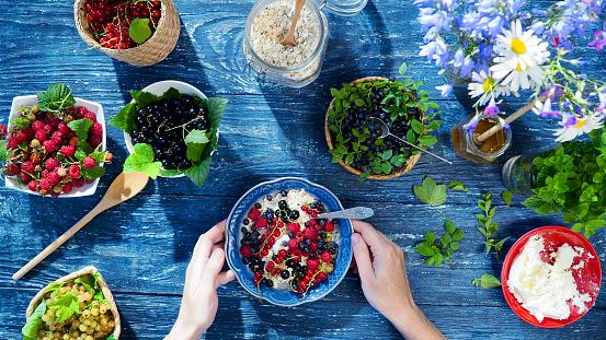 Black currant「Healthy summer breakfast」:スマホ壁紙(13)