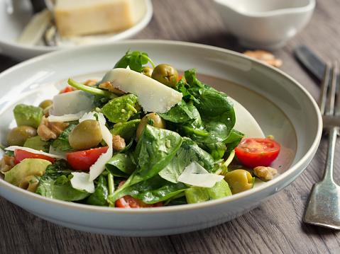 Vinaigrette Dressing「Healthy summer salad」:スマホ壁紙(17)