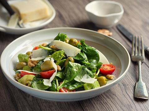 Vinaigrette Dressing「Healthy summer salad」:スマホ壁紙(8)