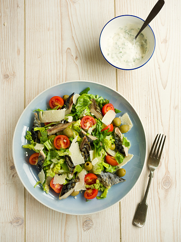 Caesar Salad「Healthy summer mackerel salad」:スマホ壁紙(19)