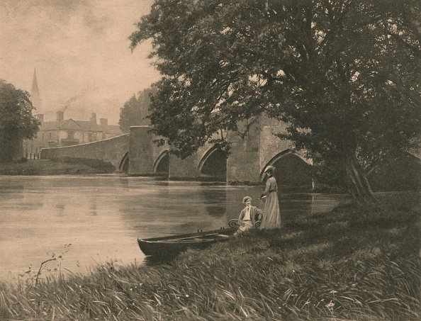 Riverbank「Bakewell Bride, 1902」:写真・画像(11)[壁紙.com]