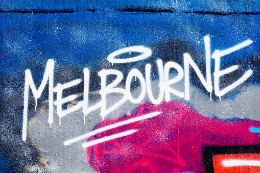 Airbrush「Melbourne painted illegally on public wall.」:スマホ壁紙(5)