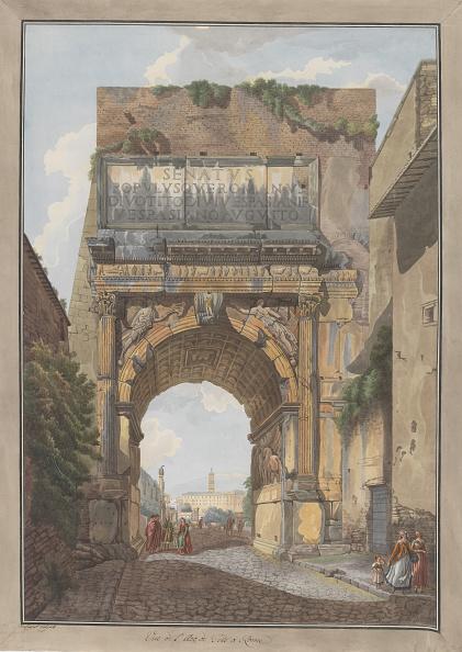 Painted Image「Arch Of Titus」:写真・画像(14)[壁紙.com]