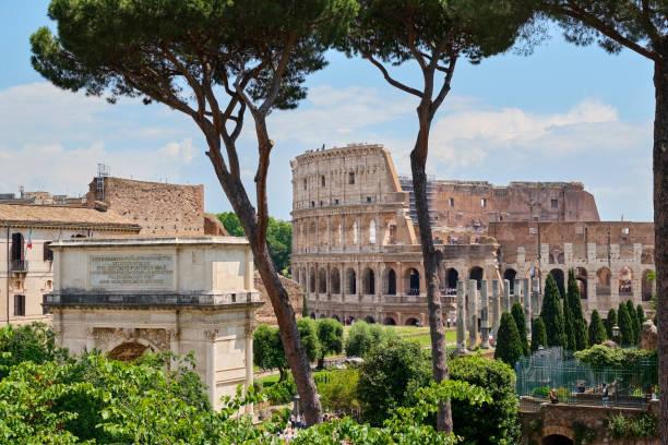 Arch of Titus, Colosseum, Rome, Italy:スマホ壁紙(壁紙.com)