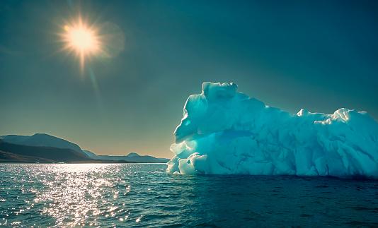 Exploration「Icebergs, Icefjord, Greenland」:スマホ壁紙(14)