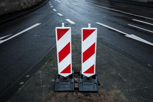 Road Construction「Barrier boards - Warnbaken」:スマホ壁紙(18)