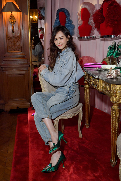 Angelababy「Roger Vivier: Day Dream Vivier - Press Day - Paris Fashion Week Womenswear Fall/Winter 2019/2020」:写真・画像(10)[壁紙.com]