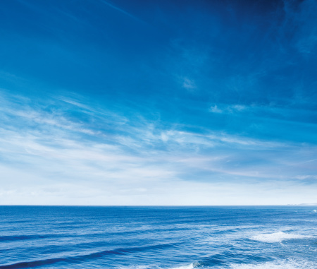 Sea「Ocean Skyline」:スマホ壁紙(15)