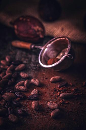 スイーツ「ココア豆」:スマホ壁紙(8)