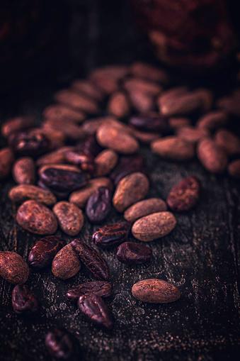 スイーツ「ココア豆」:スマホ壁紙(13)