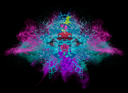 Spraying「colors explosion」:スマホ壁紙(3)