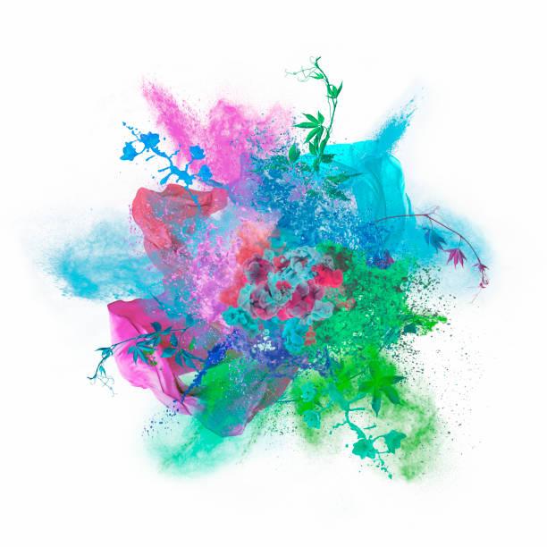 colors exploding:スマホ壁紙(壁紙.com)