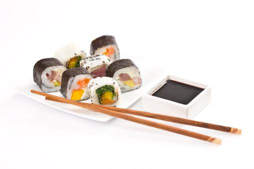 Soy Sauce「Sushi rolls」:スマホ壁紙(10)