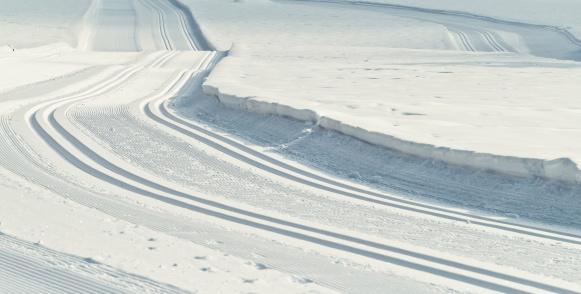 雪「クロスカントリースキーコースで Gosau Hintertal」:スマホ壁紙(4)