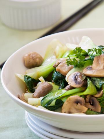 Bok Choy「Stir-fried Chinese Bok Choy with mushrooms」:スマホ壁紙(10)