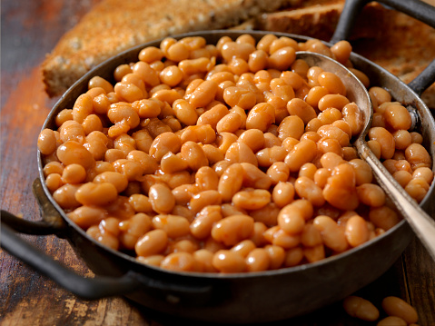 English Culture「English Style Beans and Toast」:スマホ壁紙(6)