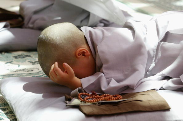 Start Button「Children Become Buddhist Monks In A Ceremony In Seoul」:写真・画像(13)[壁紙.com]