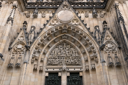 St Vitus's Cathedral「Main entrance of  St Vitus Cathedral, Prague」:スマホ壁紙(9)