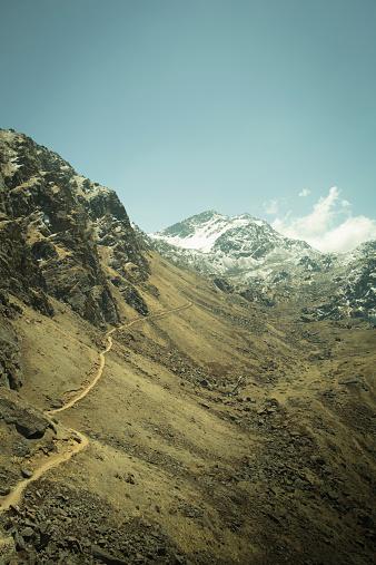 Steep「The trail up to Gosaikunda in Nepals Langtang Region.」:スマホ壁紙(4)