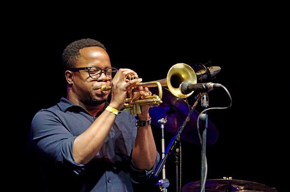 Black Background「Ambrose Akinmusire Love Supreme Jazz Festival Glynde Place East Sussex 2015」:写真・画像(16)[壁紙.com]