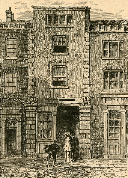 Publication「House Said To Have Been Occupied By Dryden In Fetter Lane」:写真・画像(13)[壁紙.com]
