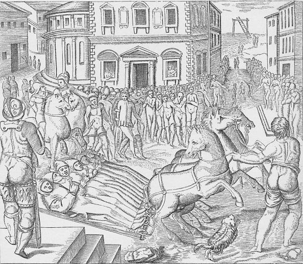 歴史「Execution of three Carthusian martyrs, Tyburn, London, 1535 (1904)」:写真・画像(13)[壁紙.com]