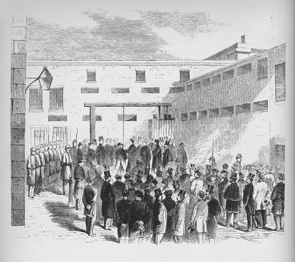 Abolitionism - Anti-slavery Movement「Execution Of Slave Trader Nathaniel Gordon In The Tombs Prison In New York, 1862, (1938)」:写真・画像(0)[壁紙.com]