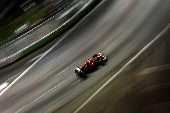 Sports Track「Fernando Alonso, Grand Prix Of Singapore」:写真・画像(16)[壁紙.com]