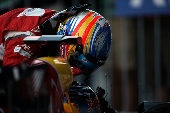 Japanese Formula One Grand Prix「Fernando Alonso, Sebastian Vettel, Grand Prix Of Japan」:写真・画像(7)[壁紙.com]