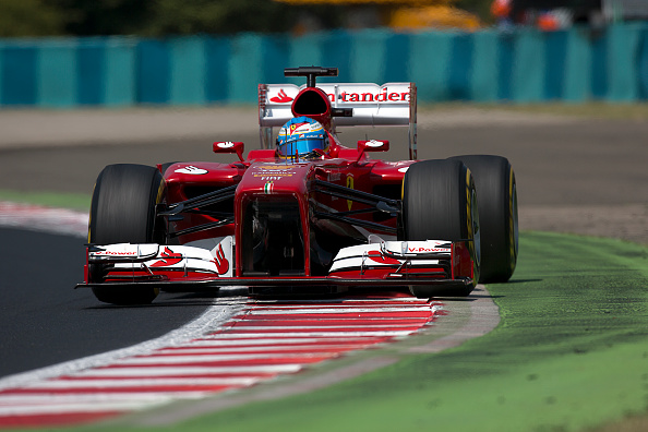 Paul-Henri Cahier「Fernando Alonso, Grand Prix Of Hungary」:写真・画像(13)[壁紙.com]