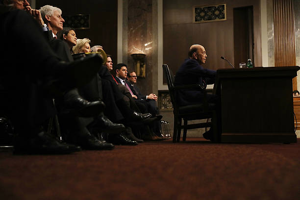 Confirmation Hearing Held For Trump's Pick To Become Commerce Secretary Wilbur Ross:ニュース(壁紙.com)