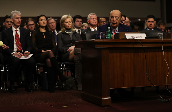Wilbur Ross「Confirmation Hearing Held For Trump's Pick To Become Commerce Secretary Wilbur Ross」:写真・画像(14)[壁紙.com]