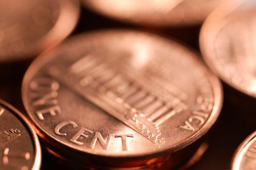 硬貨「1 セント」:スマホ壁紙(18)