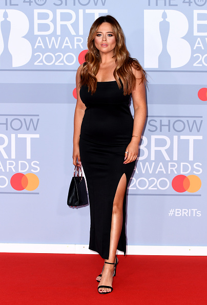 Emily Atack「The BRIT Awards 2020 - Red Carpet Arrivals」:写真・画像(18)[壁紙.com]