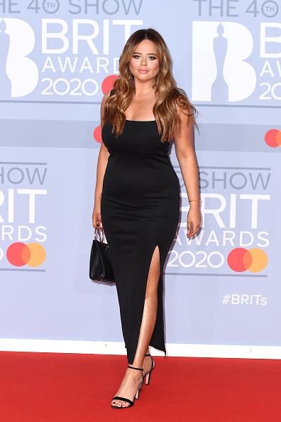 Emily Atack「The BRIT Awards 2020 - Red Carpet Arrivals」:写真・画像(16)[壁紙.com]
