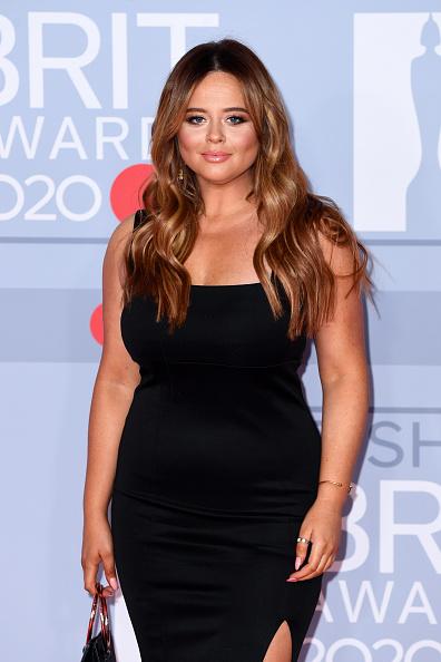 Emily Atack「The BRIT Awards 2020 - Red Carpet Arrivals」:写真・画像(10)[壁紙.com]